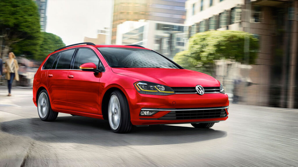 2019 VW Golf Sportwagen 4 Motion All-Wheel Drive